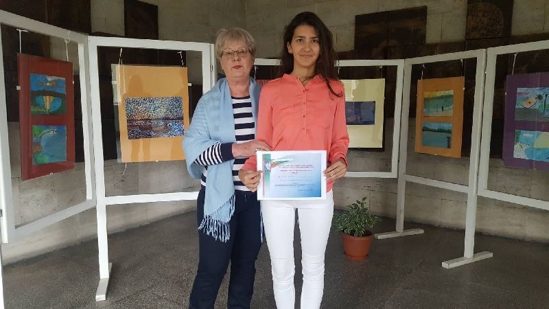 Специална награда за Мария Георгиева в исторически конкурс