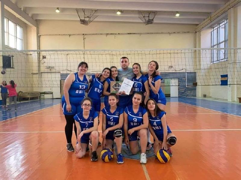 Нашите волейболистки са на първо място в Област Силистра